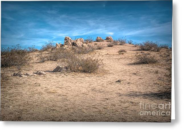 Rocks On The Hill Greeting Card