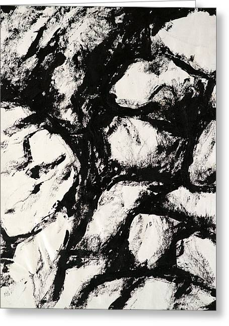 Rocks Greeting Card by Rob Woods