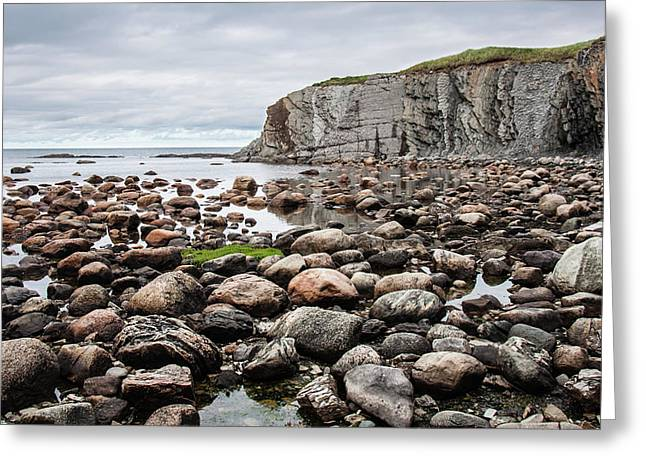Rocks Rocks And Cliff Greeting Card