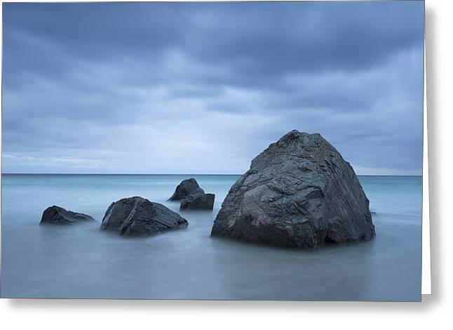 Rocks Greeting Card by Timm Chapman