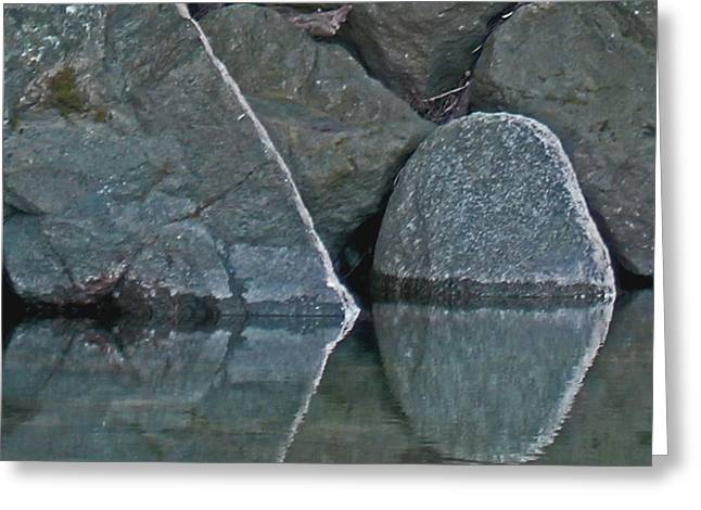Rocks Greeting Card by Wilbur Young