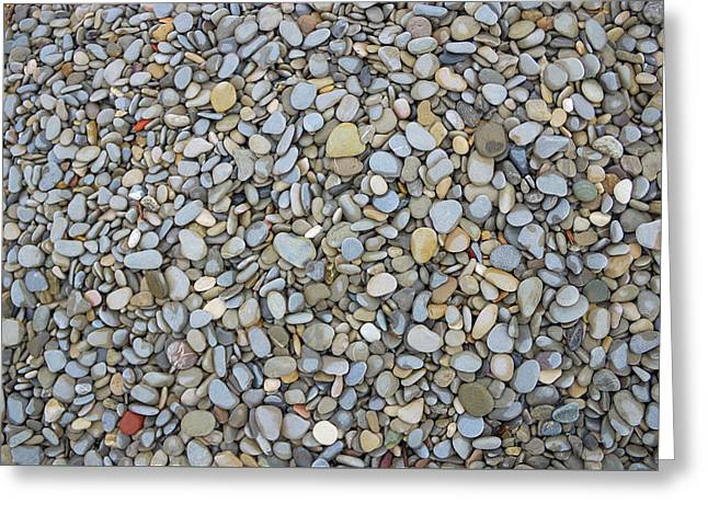 Rocky Beach 1 Greeting Card by Nicola Nobile