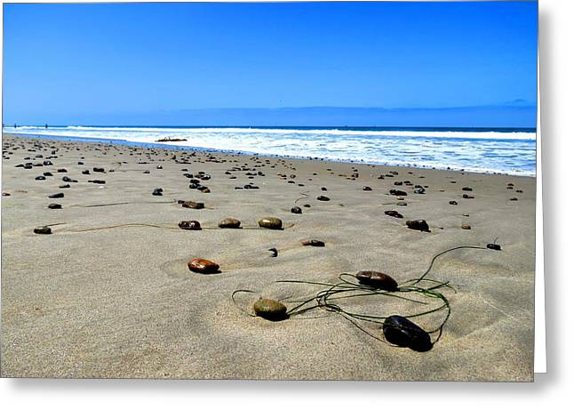Rocky Beach Greeting Card by Connor Beekman