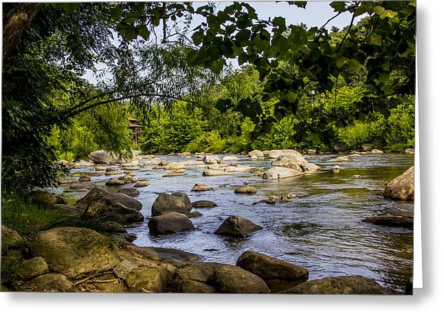 Rocky Broad River Greeting Card