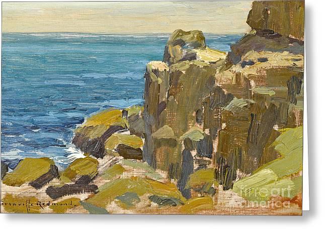Rocky Cliffs Catalina Island Greeting Card
