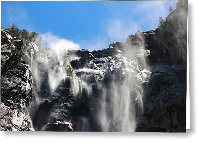 Rocky Fall 2 Greeting Card