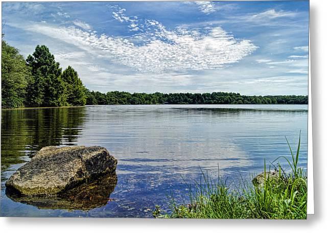 Rocky Fork Lake Greeting Card