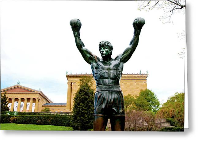 Greeting Card featuring the photograph Rocky I by Greg Fortier