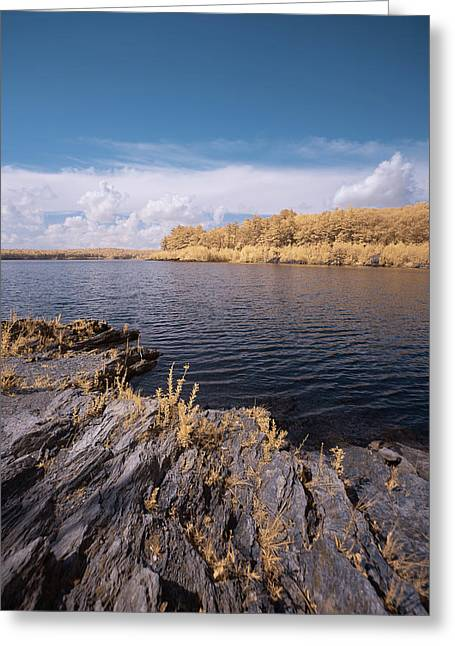 Greeting Card featuring the photograph Rocky Ir by Brian Hale