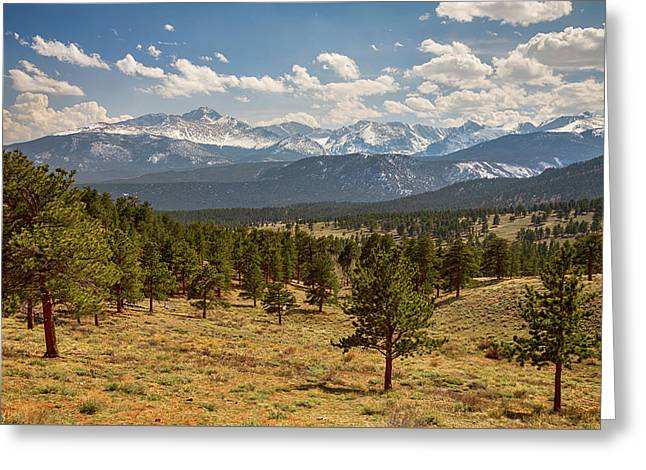 Greeting Card featuring the photograph Rocky Mountain Afternoon High by James BO Insogna