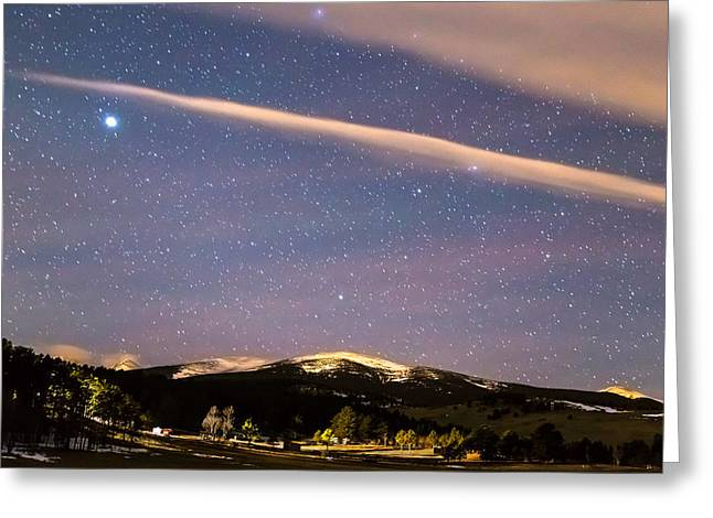 Rocky Mountain Cosmic Delight Greeting Card by James BO Insogna
