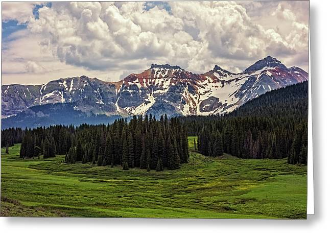 Rocky Mountain High Greeting Card by Loree Johnson