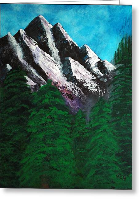 Rocky Mountain High Number One Point Five Greeting Card by Scott Haley
