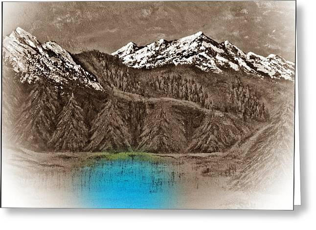 Rocky Mountain High Number Twelve Greeting Card by Scott Haley