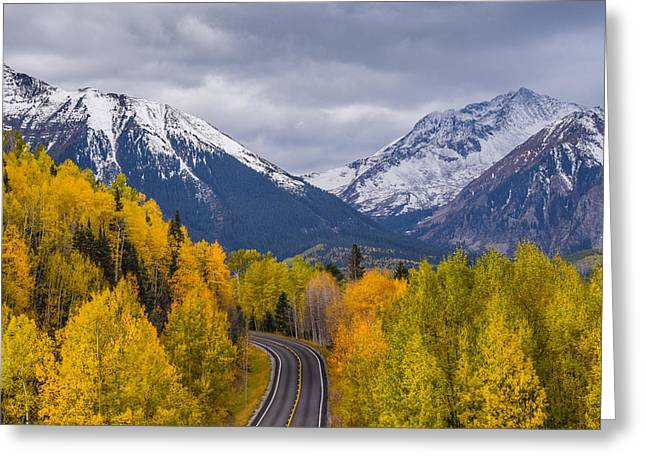Rocky Mountain Hwy Greeting Card