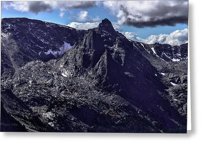 Rocky Mountain National Park Colorado Greeting Card