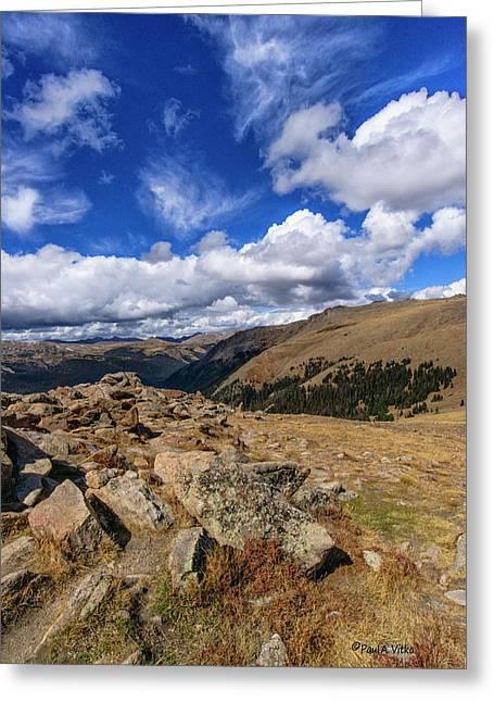 Rocky Mountain National Park Colorado Greeting Card