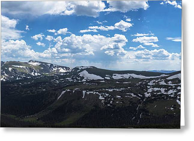 Rocky Mountain National Park Gigapan 1 Greeting Card