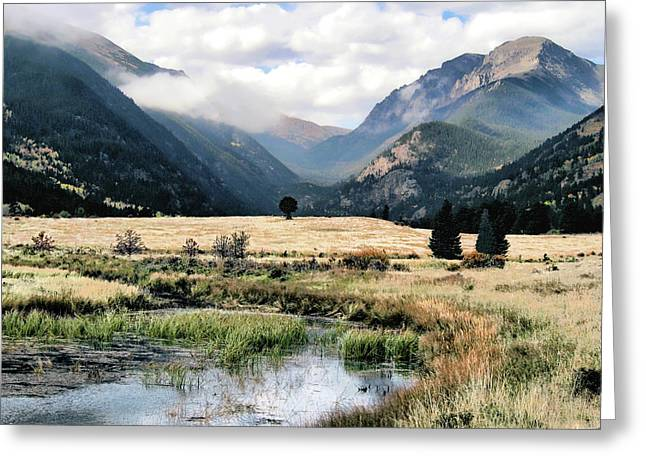 Rocky Mountain National Park Greeting Card