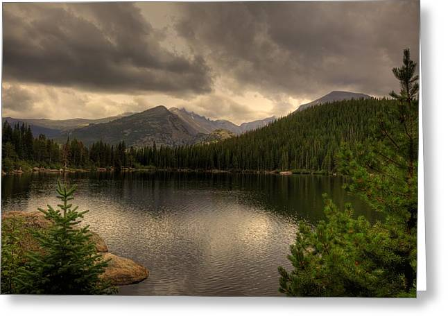 Rocky Mountain National Park Lake Greeting Card by Patrick  Flynn
