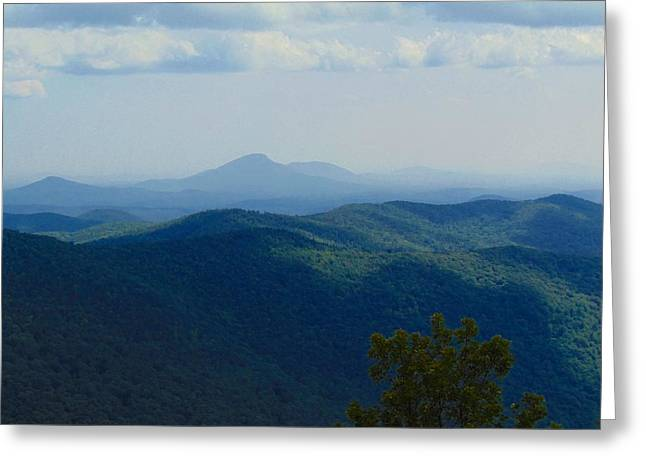 Rocky Mountain Overlook On The At Greeting Card