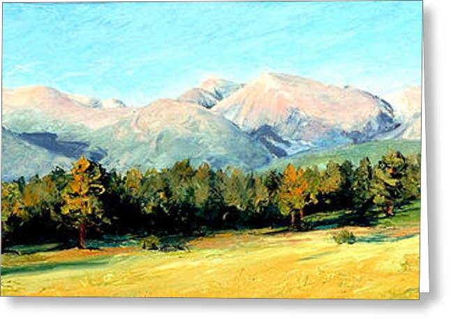 Rocky Mountain Panoramic Greeting Card