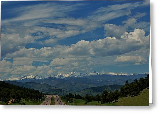 Colorado Rocky Mountain High Greeting Card