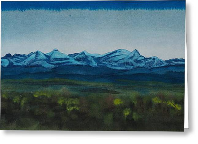 Rocky Mountains I Greeting Card