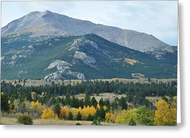Rocky Mountains Greeting Card by Jeff Moose