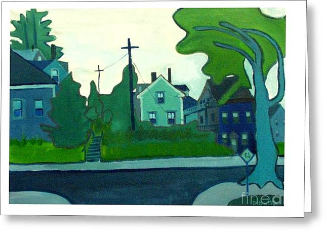 Rocky Neck Art Colony East Gloucester Ma Greeting Card by Debra Bretton Robinson
