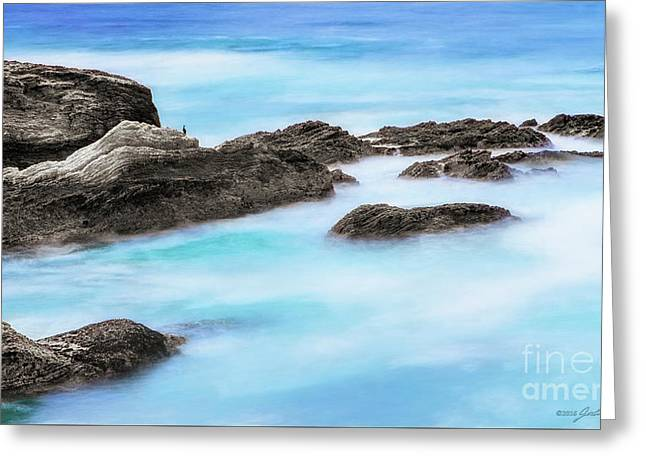 Rocky Ocean Greeting Card