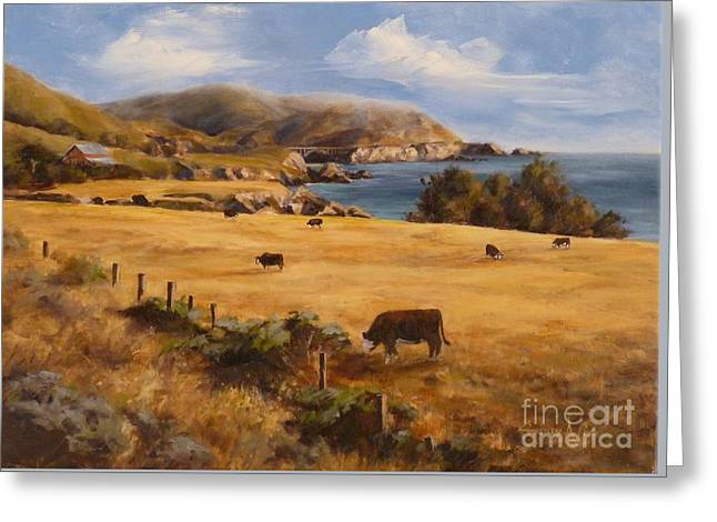 Rocky Point To Big Sur Greeting Card