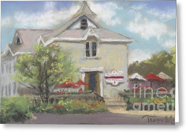 Rocky Point Winery Greeting Card by Terri  Meyer