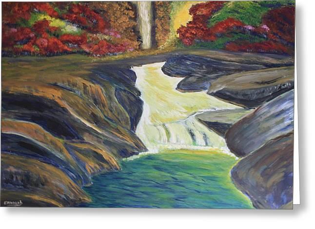 Rocky River Falls Greeting Card