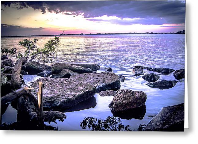 Rocky River Shore Greeting Card