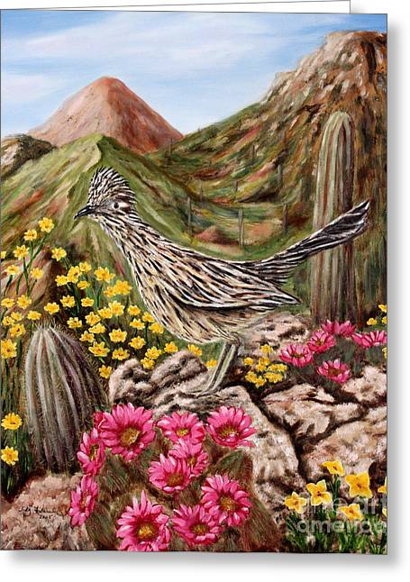 Rocky Road Runner Greeting Card