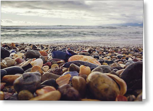 Greeting Card featuring the photograph Rocky Shore by April Reppucci