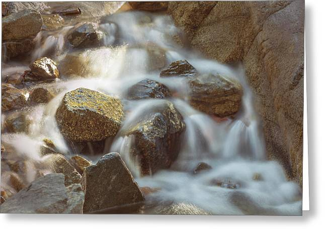 Rocky Water Greeting Card