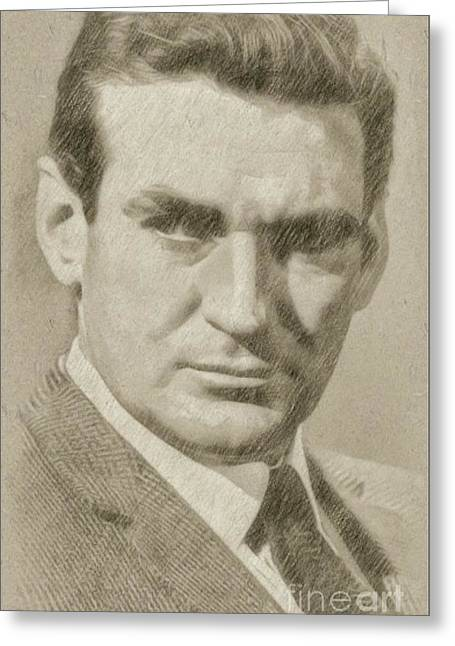Rod Taylor, Actor Greeting Card