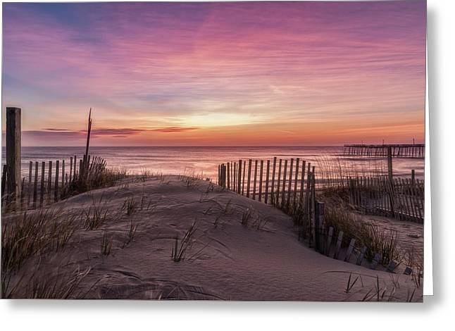 Rodanthe Sunrise Greeting Card