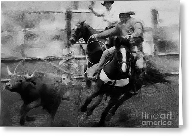 Rodeo 09321 Greeting Card by Gull G