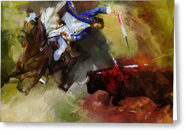 Rodeo 43a Greeting Card