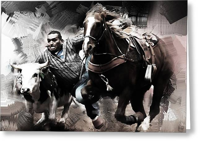 Rodeo 8032 Greeting Card by Gull G