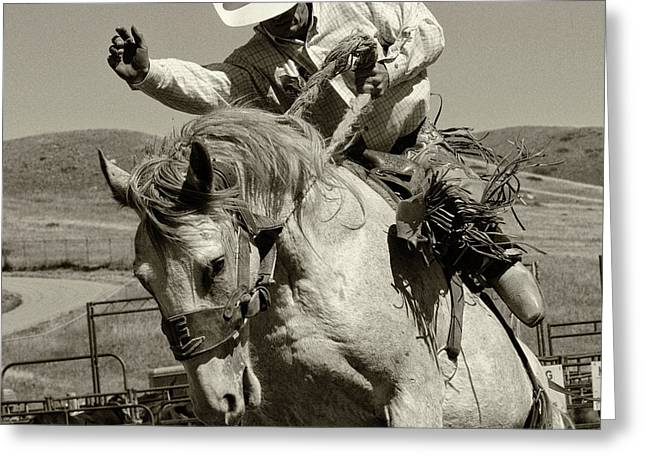 Rodeo Stars 19 Greeting Card