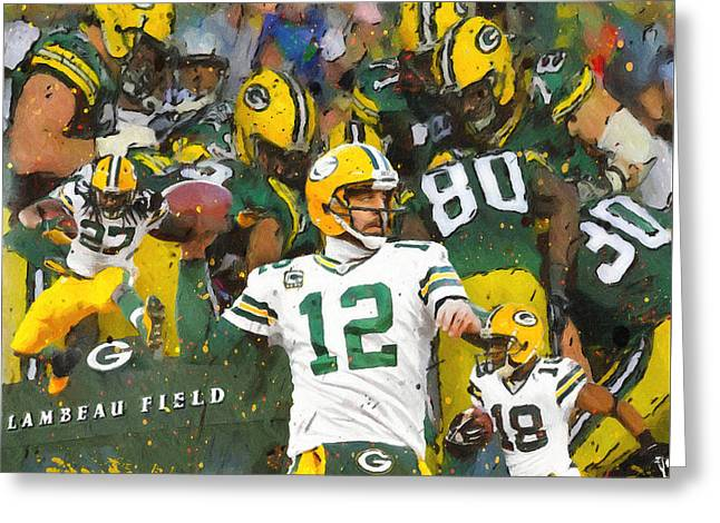 Rodgers. Cobb, Lacy Greeting Card by John Farr