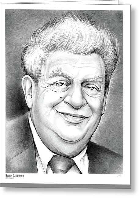 Rodney Dangerfield Greeting Card
