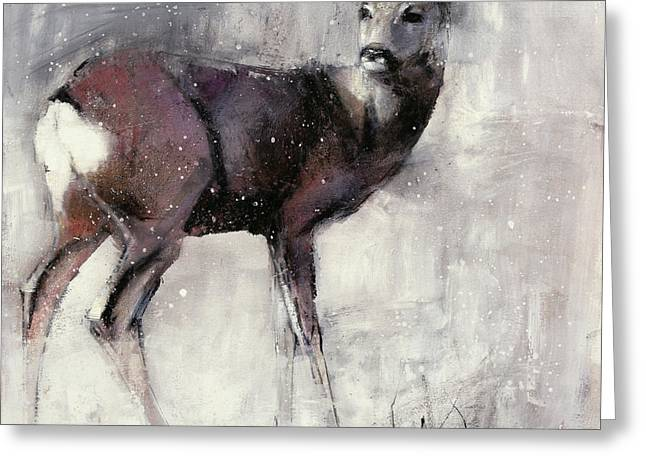 Roe Doe Greeting Card