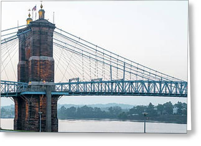 Roebling Bridge Greeting Card