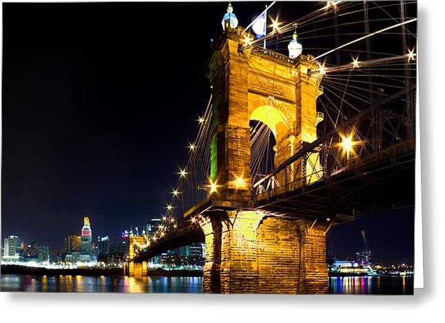 Roebling Brodge Greeting Card by Twenty Two North Photography