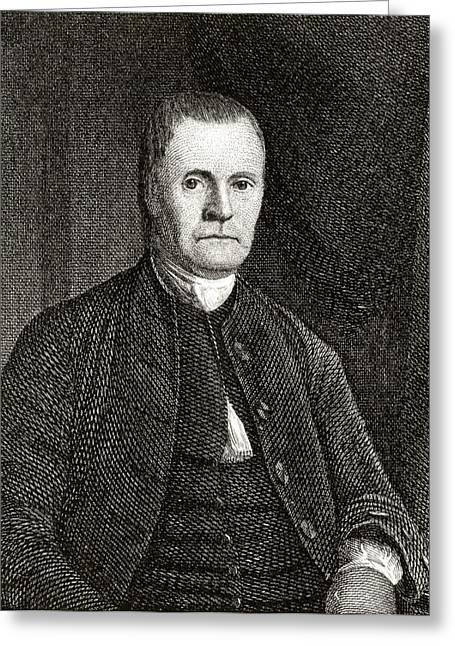 Roger Sherman 1721 To 1793 American Greeting Card